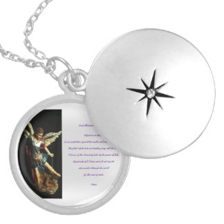 Saint Michael Prayer Necklace