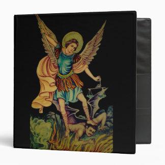 Saint Michael the Archangel Black Binder