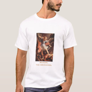 Saint Michael the Archangel by Reni T-Shirt