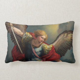 Saint Michael the Archangel Lumbar Pillow