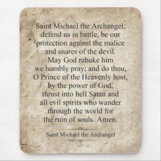 Saint Michael the Archangel Mouse Pad
