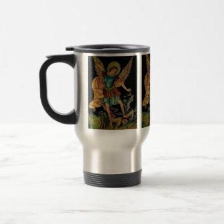 Saint Michael The Archangel 15 Oz Stainless Steel Travel Mug