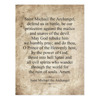 Saint Michael the Archangel Postcards