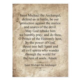 Saint Michael the Archangel Postcard