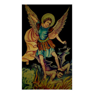 Saint Michael The ArchAngel Posters