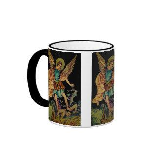 Saint Michael The Archangel Ringer Mug