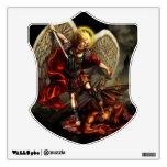 Saint Michael the Archangel Shield Wall Decal