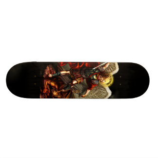 Saint Michael the Archangel Skate Board