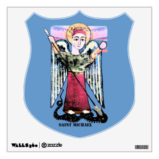 Saint Michael the Archangel Wall Decal