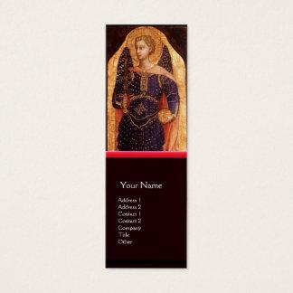 SAINT MICHAEL THE ARCHANGEL WITH DRAGON MINI BUSINESS CARD