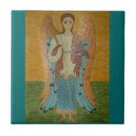 Saint Michael Tile