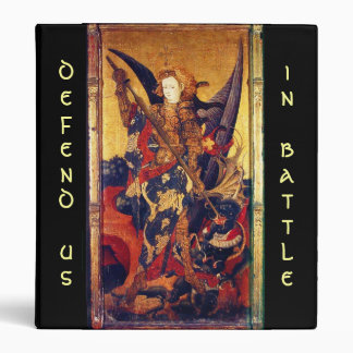 Saint Michael Vanquishing the Devil , Binder