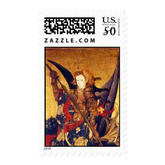 Saint Michael Vanquishing the Devil  ,detail Postage