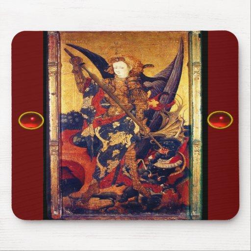 Saint Michael Vanquishing the Devil , Mousepad