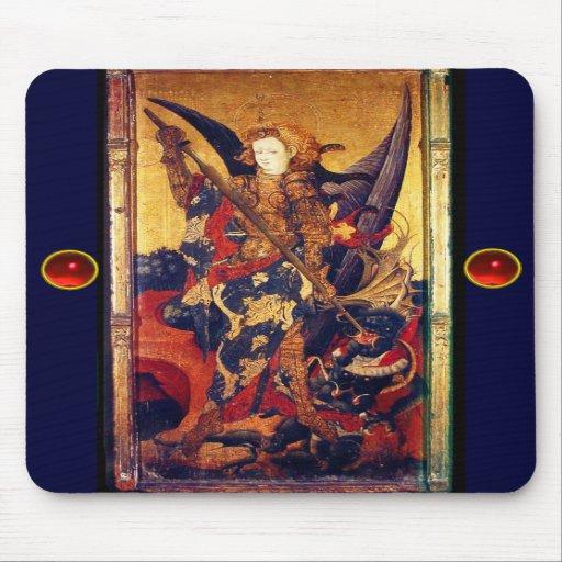Saint Michael Vanquishing the Devil , Mouse Pads