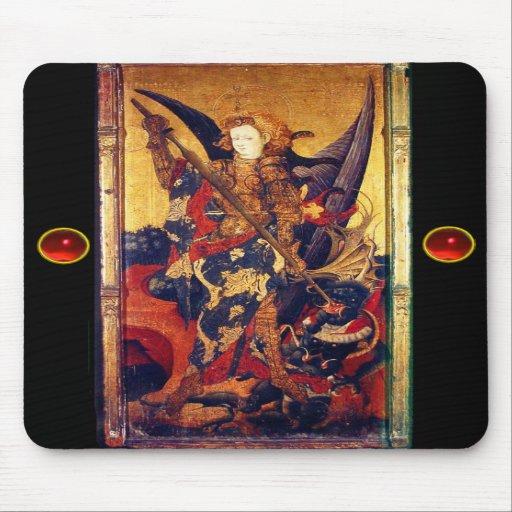 Saint Michael Vanquishing the Devil , Mousepads