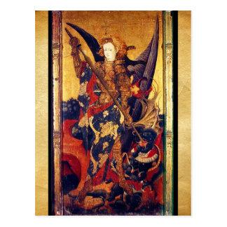 Saint Michael Vanquishing the Devil Postcard
