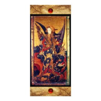 Saint Michael Vanquishing the Devil Rack Card