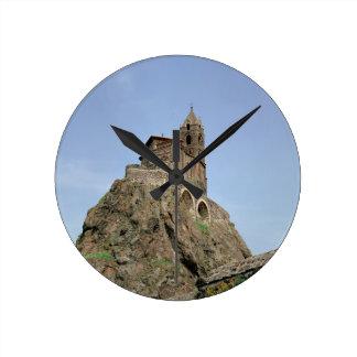 Saint Michel d'Aiguilhe (photo) Round Clock