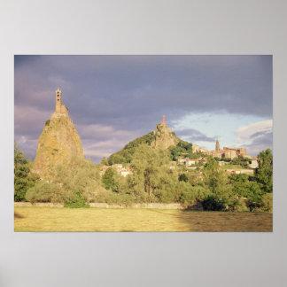 Saint Michel d'Aiguilhe, the Rocher Poster