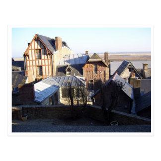 Saint Michel de Mont, Normandía, Francia Tarjeta Postal