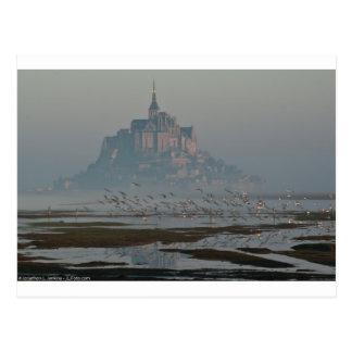 Saint Michel de Mont Tarjeta Postal