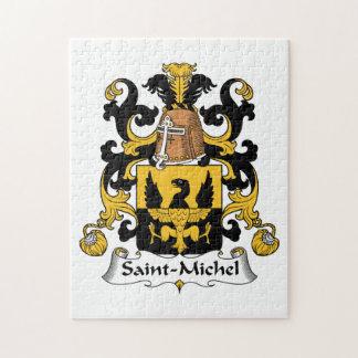 Saint-Michel Family Crest Jigsaw Puzzle