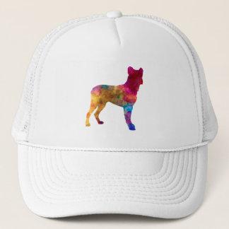 Saint Miguel Cattle Dog in watercolor Trucker Hat