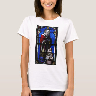 Saint Nicholas Blessings Stained Glass T-Shirt