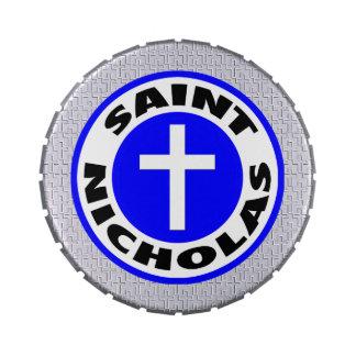 Saint Nicholas Candy Tin