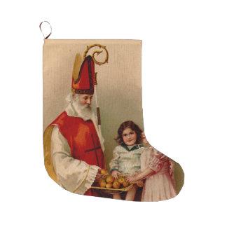 Saint Nicholas Christmas Stocking
