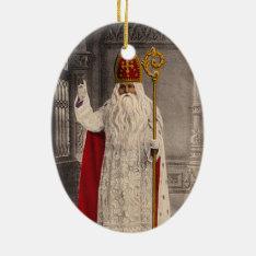 Saint Nicholas Christmas Tree Ornament at Zazzle