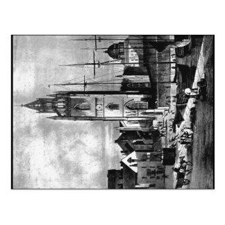 Saint Nicholas Church, Liverpool, about 1824 Postcard