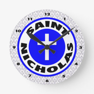 Saint Nicholas Round Clocks
