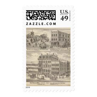 Saint Nicholas Hotel, La Fayette Postage Stamp