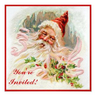 Saint Nicholas 5.25x5.25 Square Paper Invitation Card