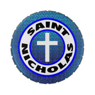 Saint Nicholas Jelly Belly Tin
