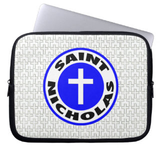 Saint Nicholas Laptop Computer Sleeves
