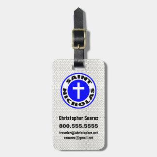 Saint Nicholas Luggage Tag