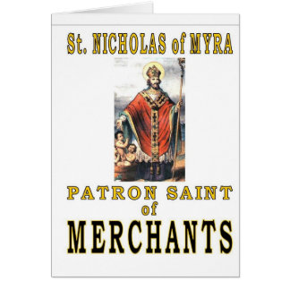 SAINT NICHOLAS of MYRA Card