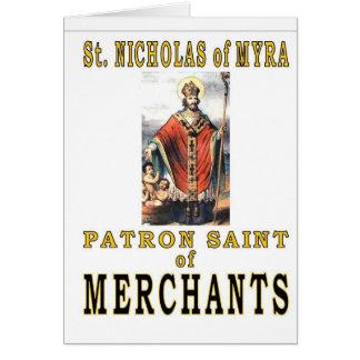 SAINT NICHOLAS of MYRA Greeting Card