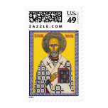 Saint Nicholas Postage Stamp