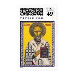 Saint Nicholas Postage Stamps