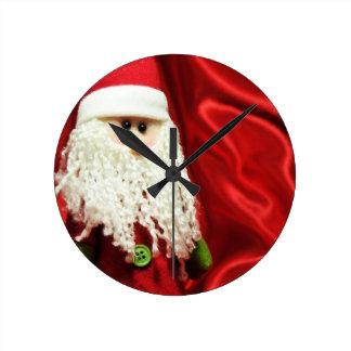 Saint Nicholas Round Clock