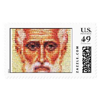 Saint Nicholas with Saints Postage Stamps