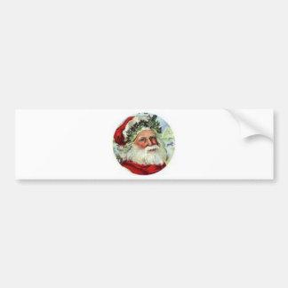 Saint Nick Bumper Sticker