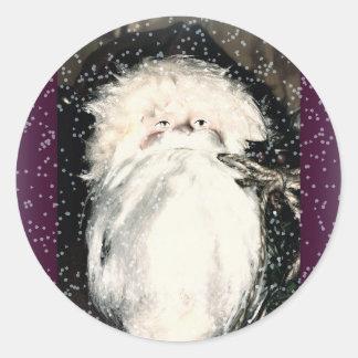 Saint Nick-Ho Ho Ho Classic Round Sticker