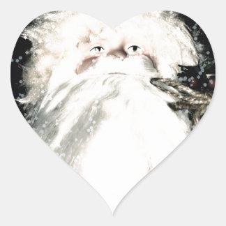 Saint Nick-Ho Ho Ho Heart Sticker