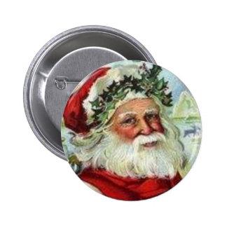 Saint Nick Pinback Button