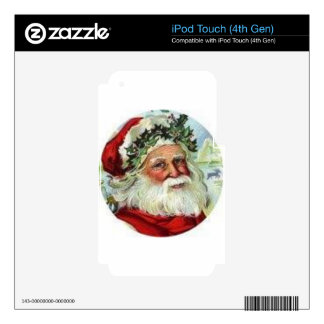 Saint Nick Skin For iPod Touch 4G